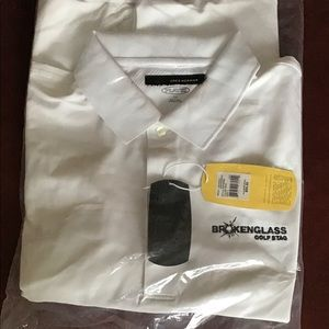 NWT Greg Norman Men's Play Dry Golf Polo Size L